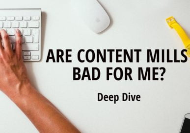 Are Content Mills Bad For Me?