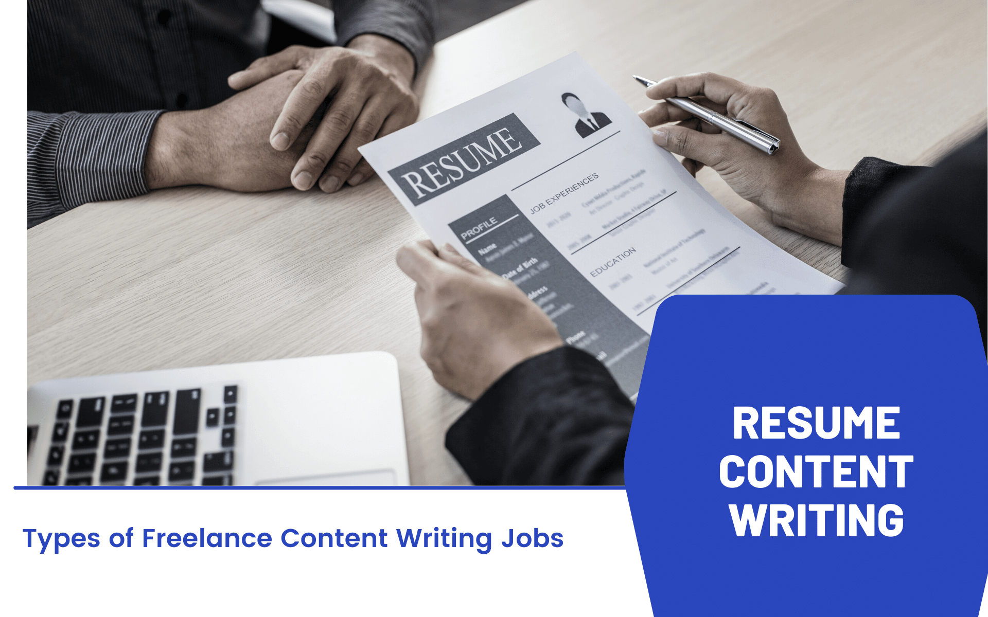 Resume Content Writing