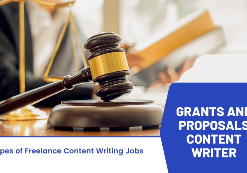 Grants and Proposals Content Writer