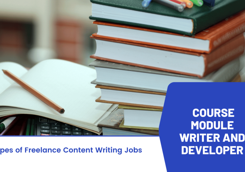 14. Course Module writer and developer