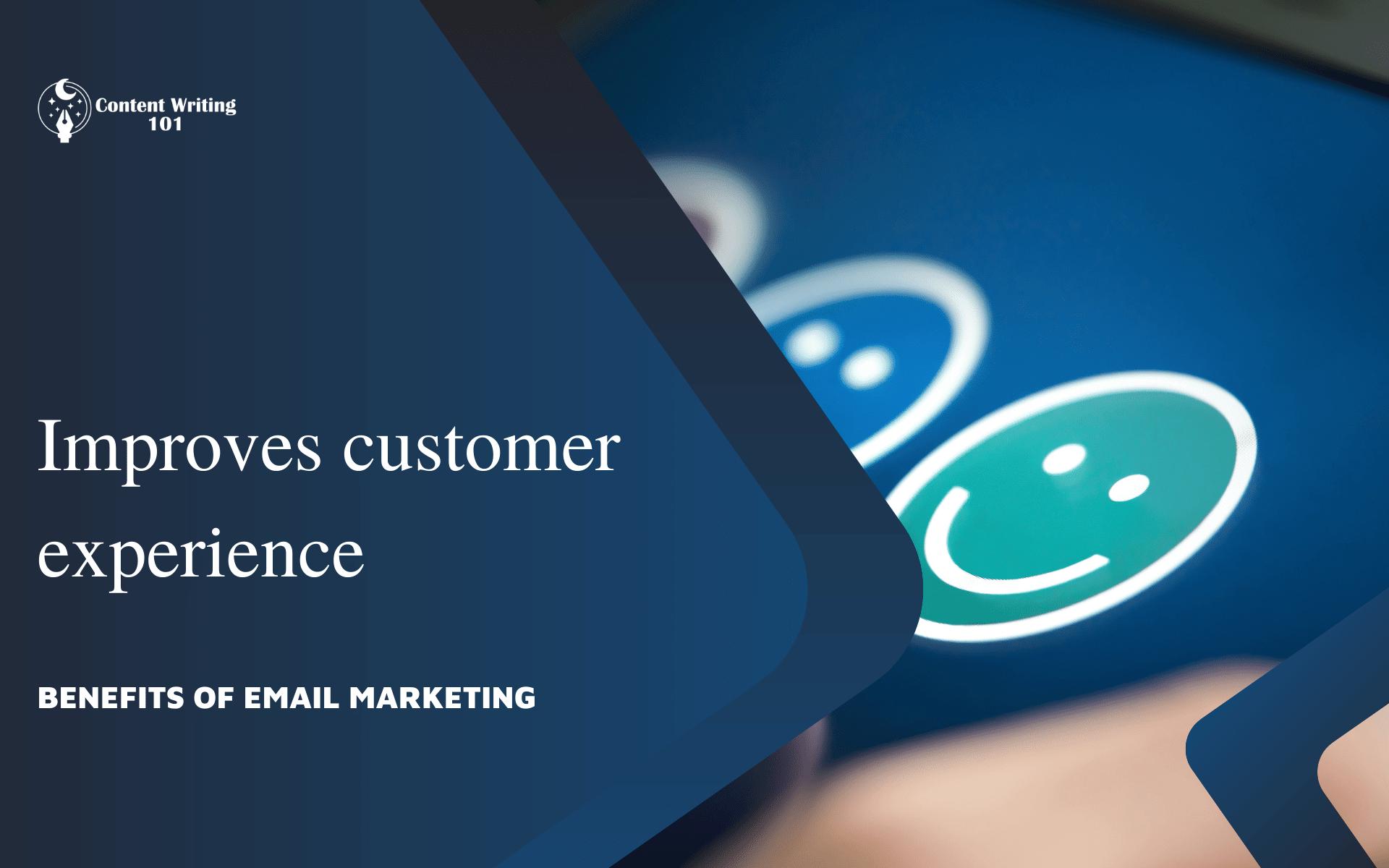 3. Improves customer experience