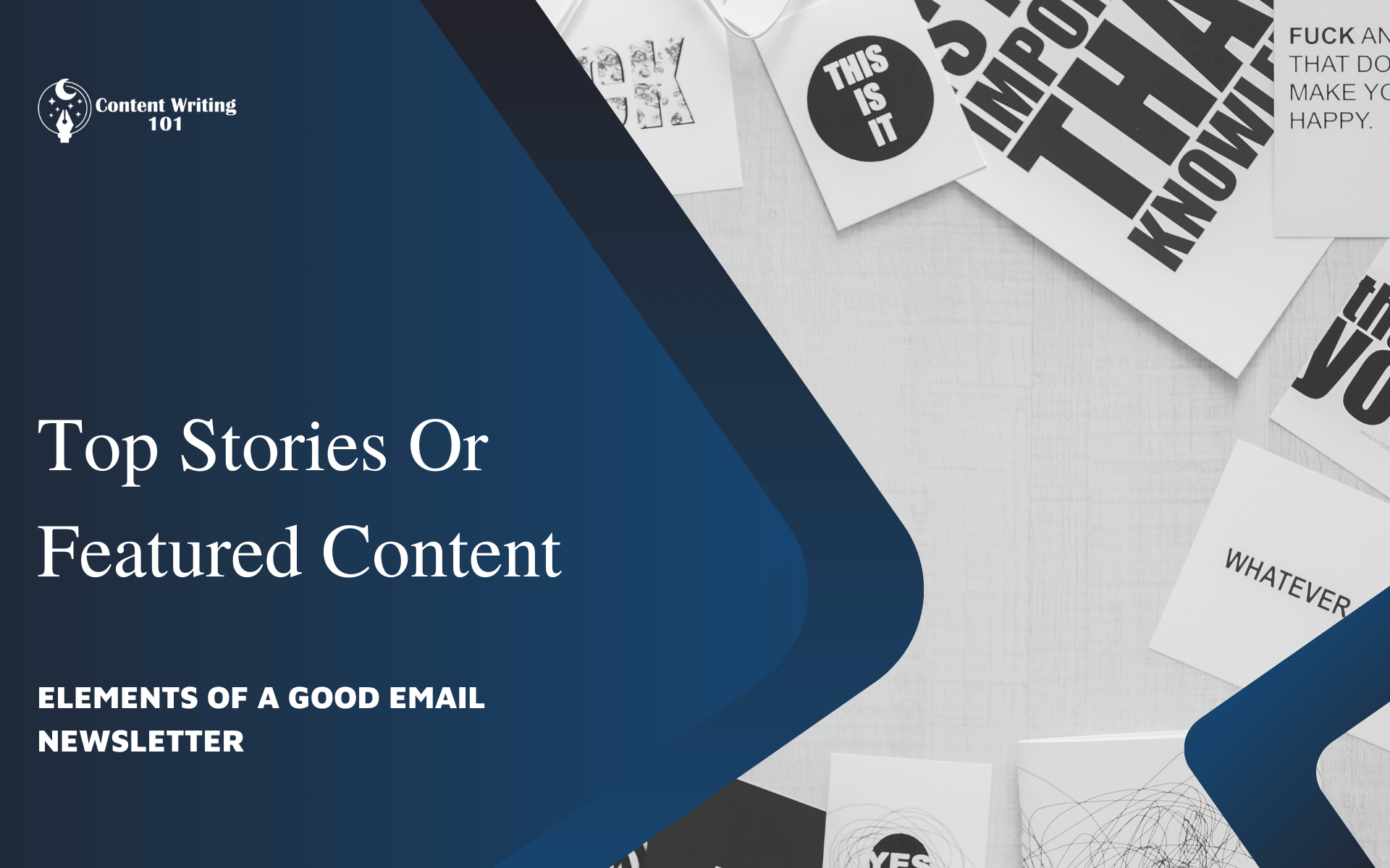 3. Top Stories Or Featured Content