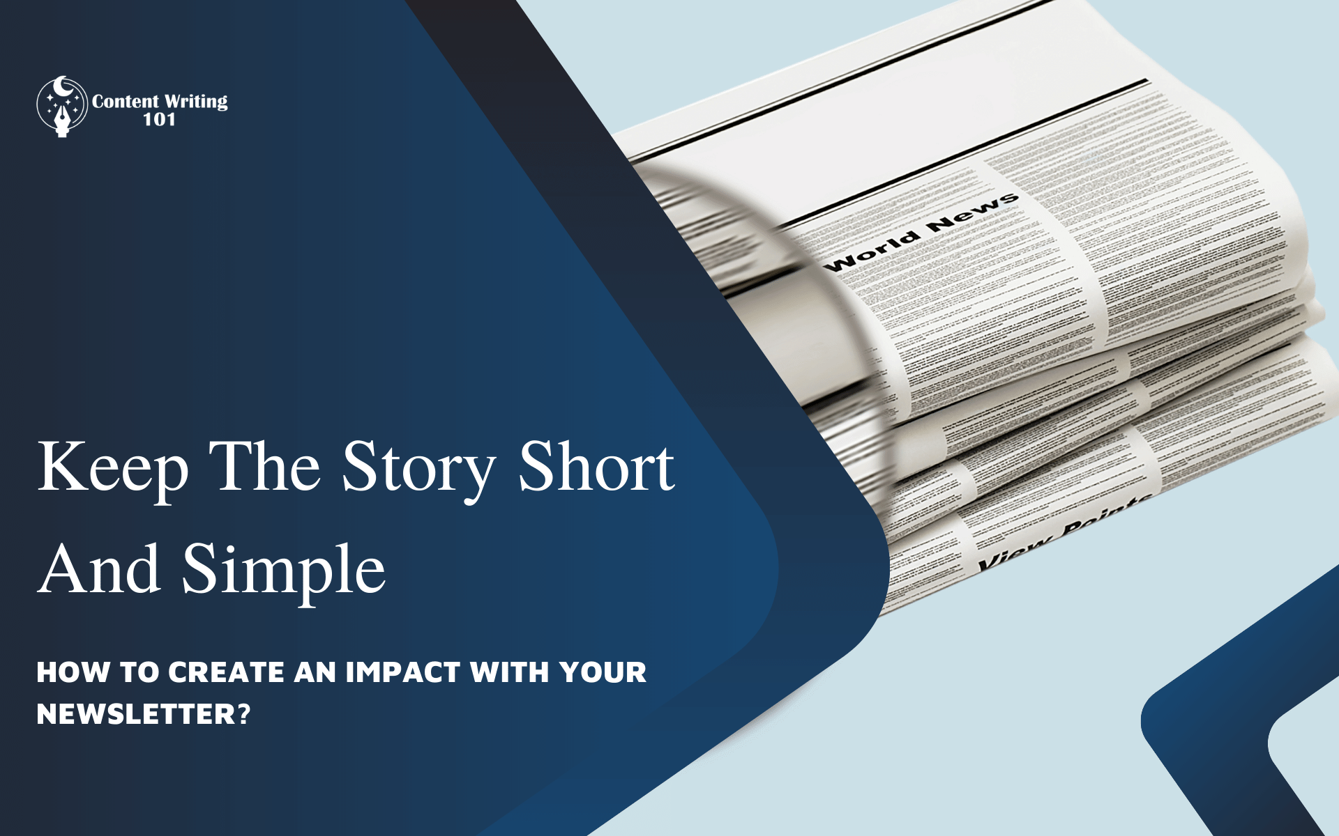 Keep The Story Short And Simple