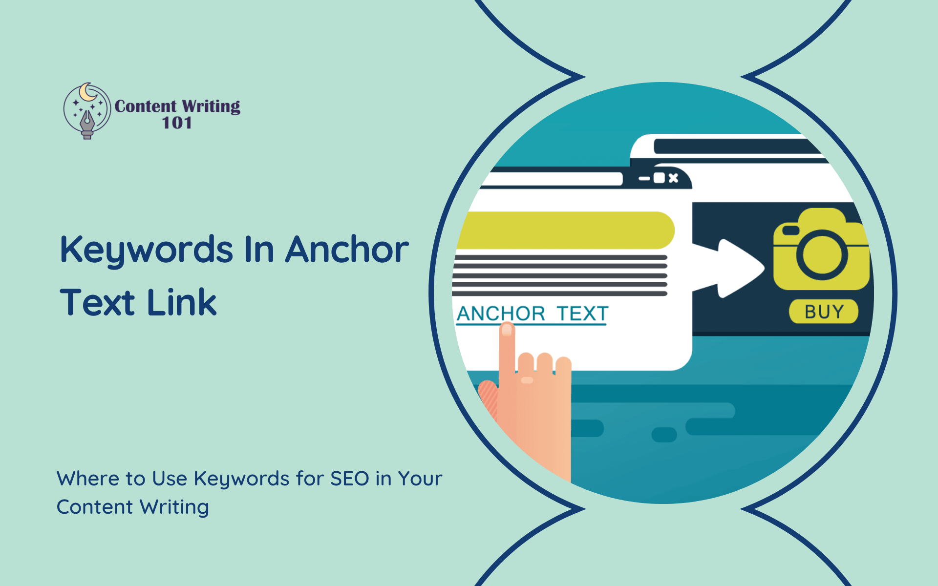 Keywords in Anchor Text Link