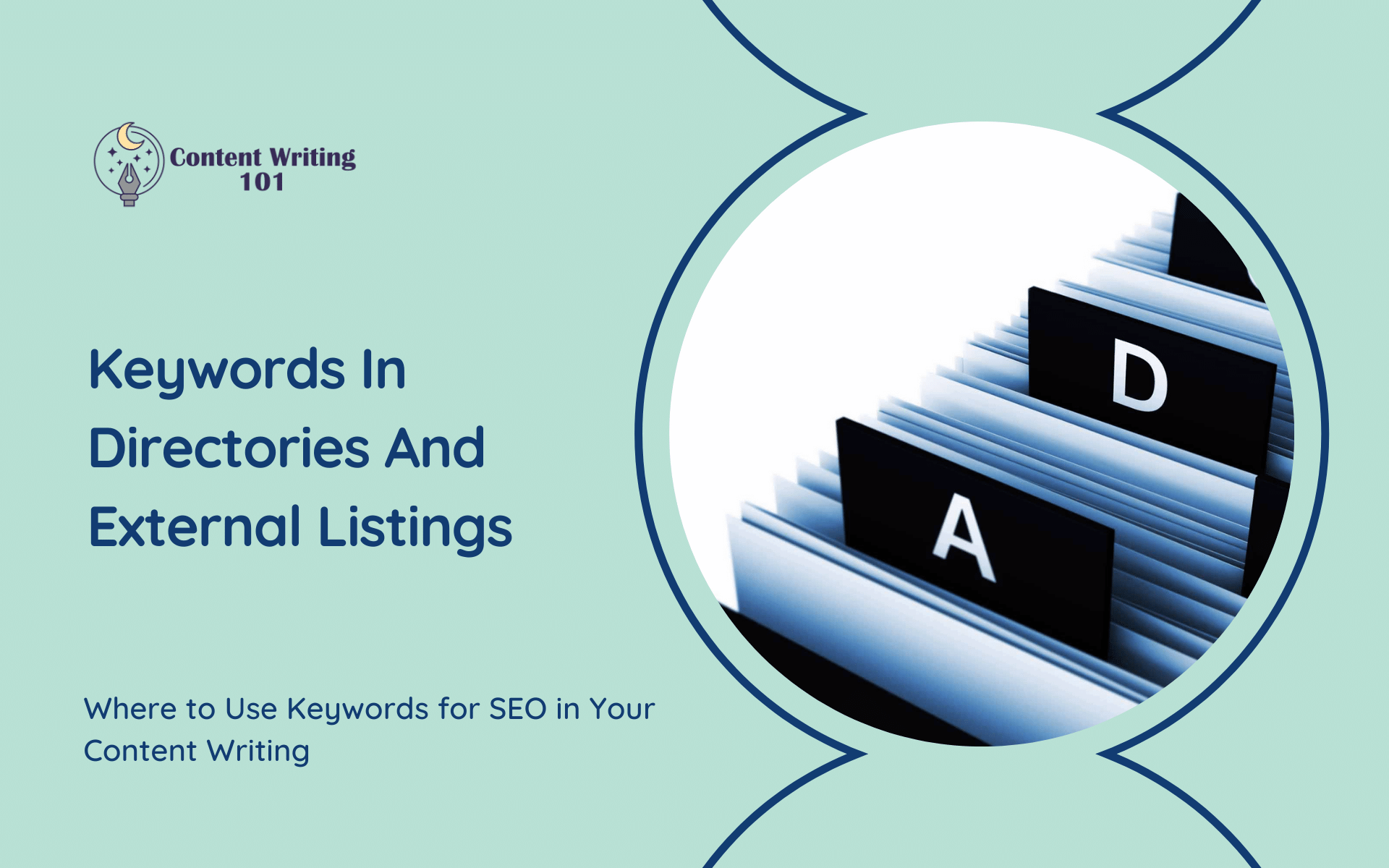 Keywords in Directories and Listings