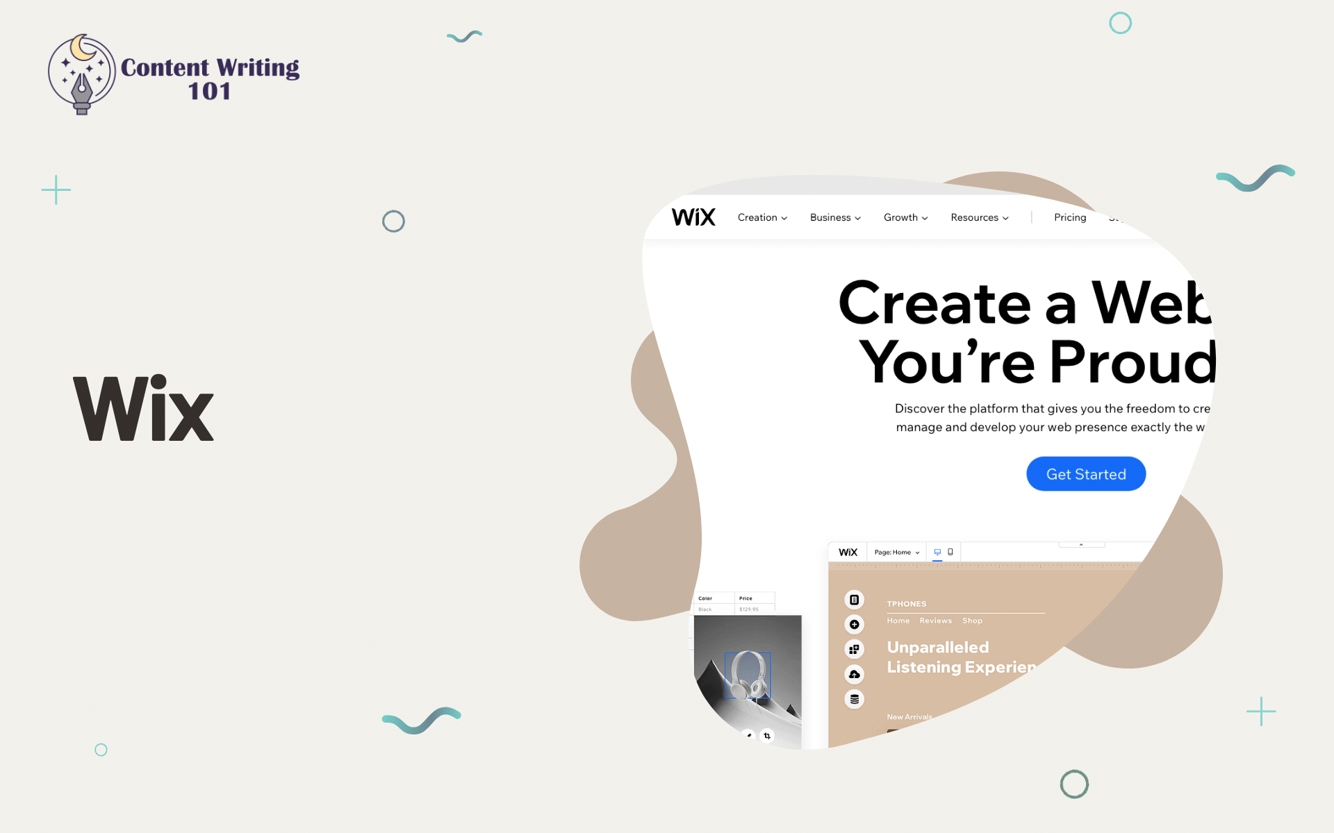 Wix Content Writing 101